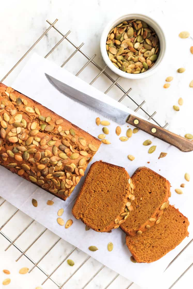 1-Bowl Pumpkin Bread (V + GF)