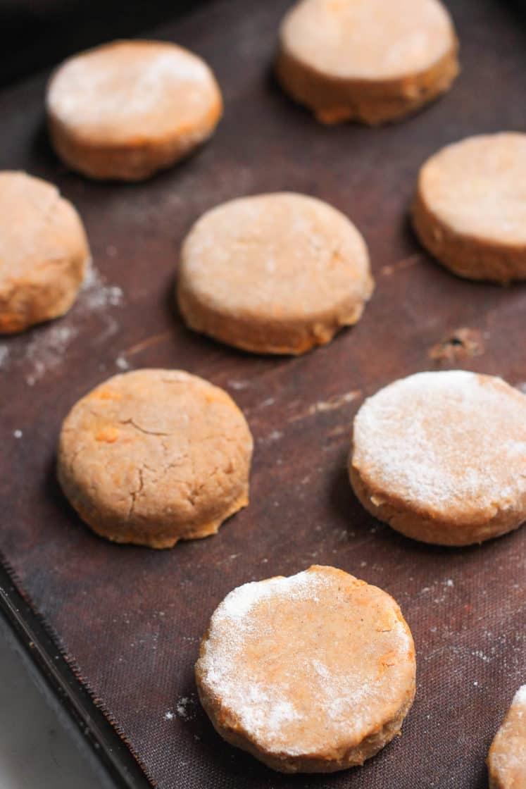 Gluten-free Vegan Pumpkin Scones