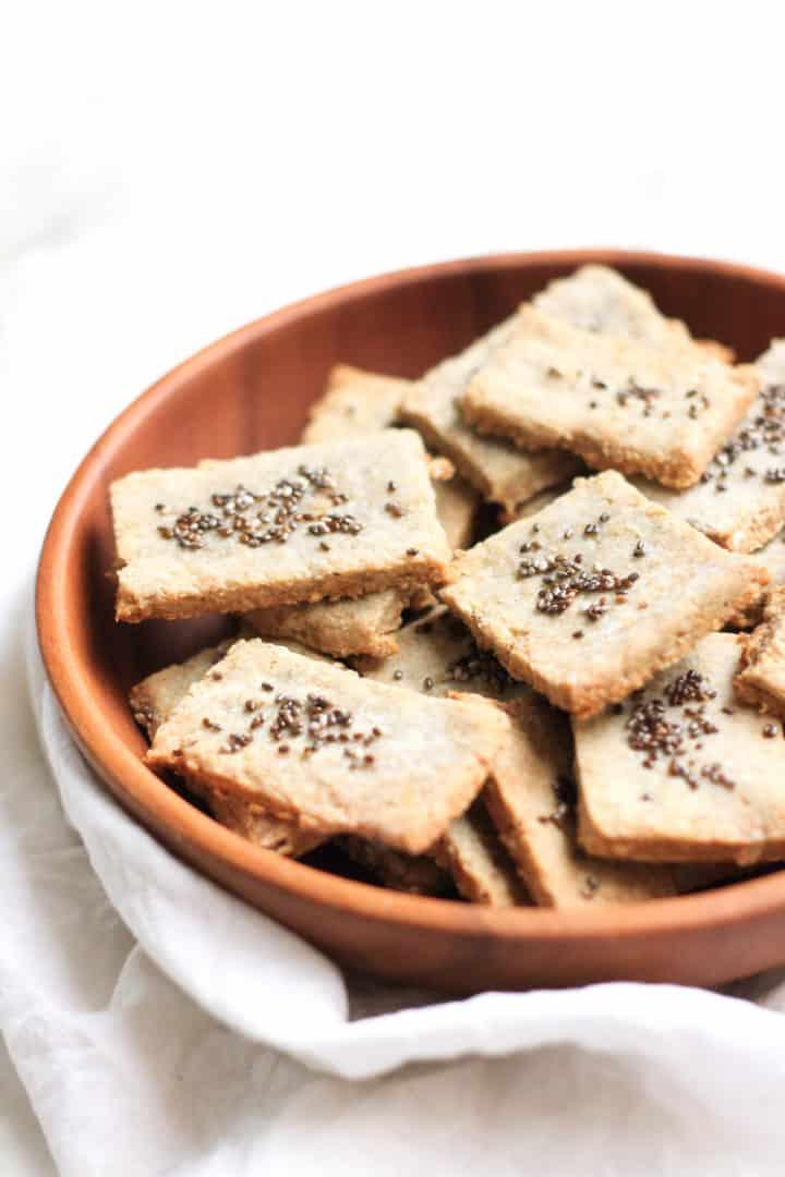 best keto seed crackers recipe
