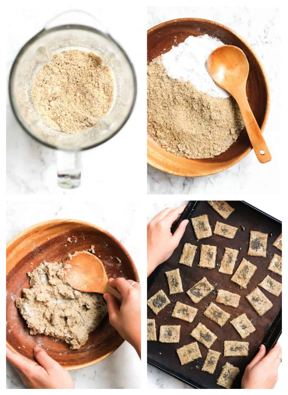 Paleo Sunflower Seed Crackers