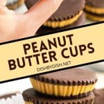 Pinterest Image for Peanut Butter Cups