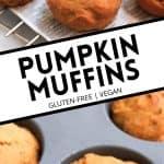 pumpkin muffins pinterest image