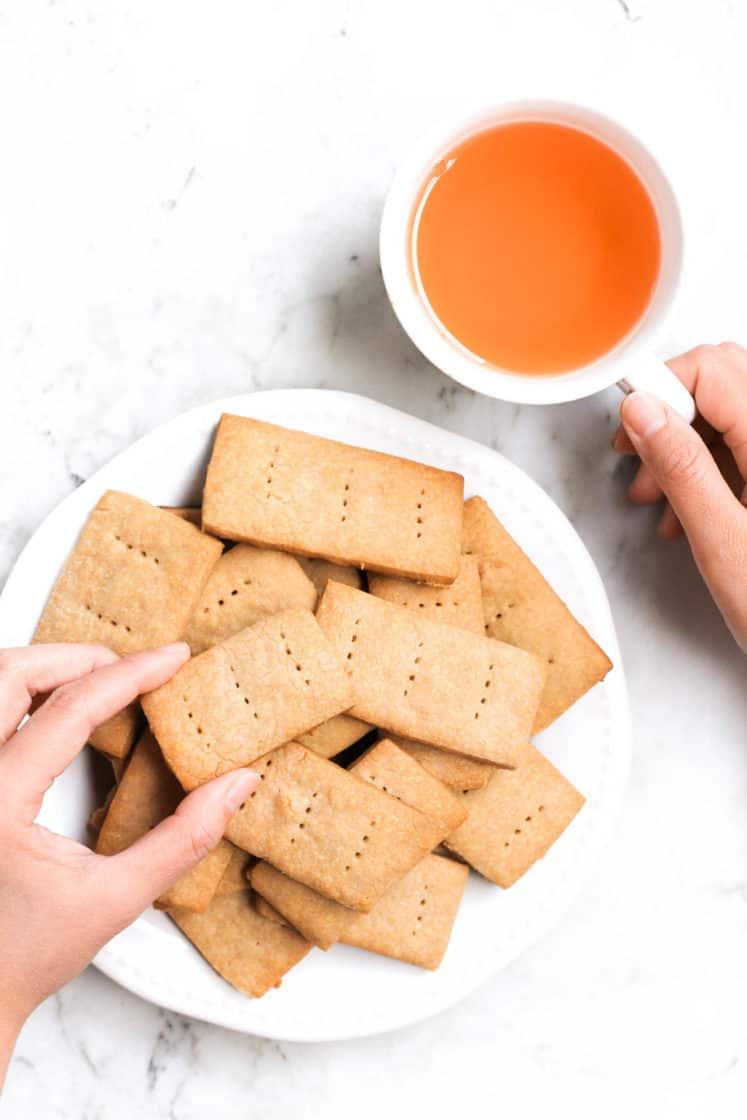Sorghum Graham Crackers (Gluten-free, Vegan)