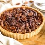Easy Pecan Pie Recipe (Gluten-Free, Dairy-Free)